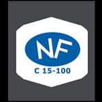 Marquage NF C15-100