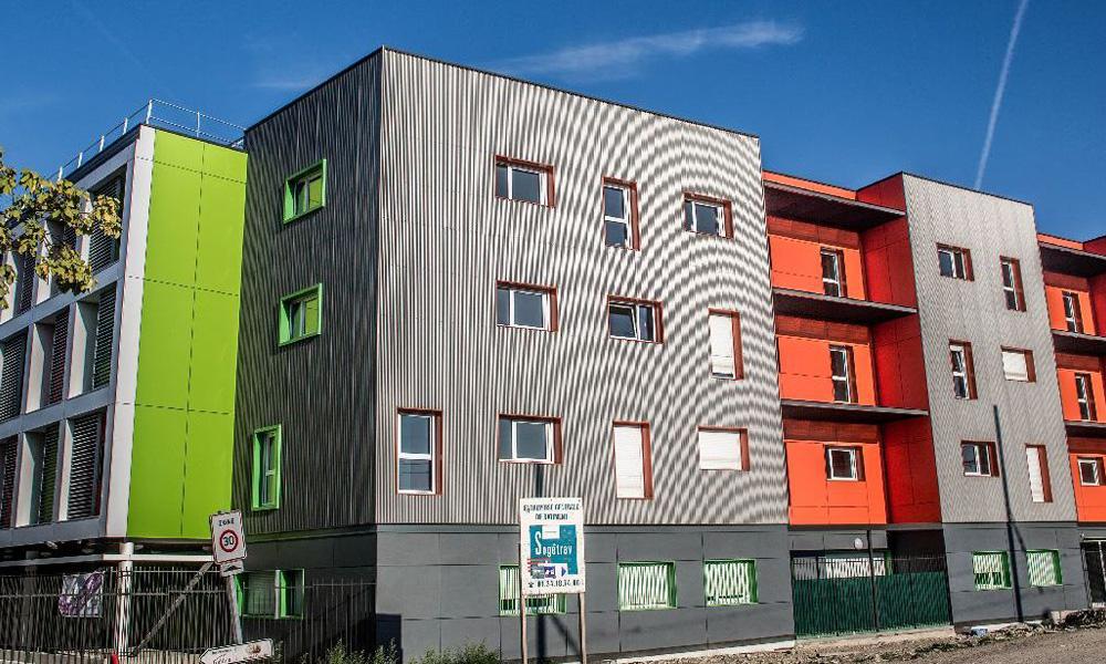 Foyer D Etudiant Architecture : Construction résidence étudiante modulaire