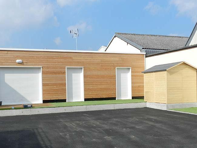 maisons individuelles à Caen HABITAT en résidentiel groupé modulaire de COUGNAUD Citeden